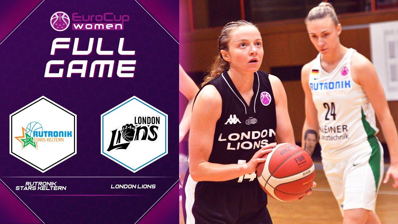 Rutronik Stars Keltern v London Lions   Full Game - EuroCup Women 2021-22