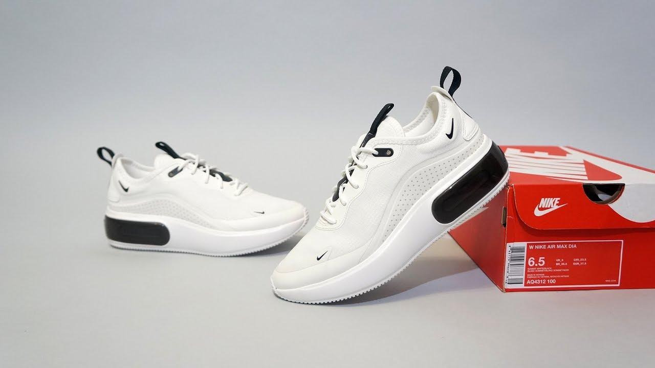 7ed1e857a Nike Air Max Dia white black AQ4312-100 - YouTube