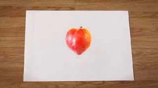 Como desenhar uma ameixa : Como desenhar frutas