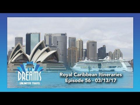 Royal Caribbean Cruise Line Itineraries | 03/13/17