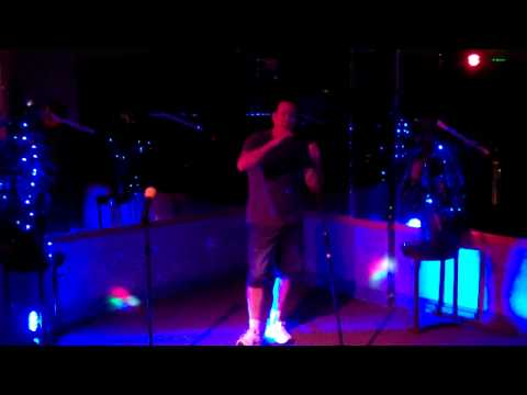 Lizard Lounge Karaoke - Micheal Sings I love you more today than yesterday  - Spiral Staircase-