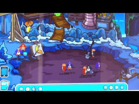 How To Get A JackHammer In Club Penguin!