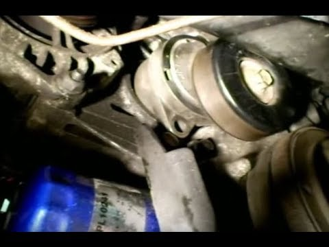 2001 saturn sl2 engine belt diagram how to remove the serpentine belt tensioner in a saturn car auto  serpentine belt tensioner in a saturn