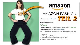 Ich teste Amazon Fashion! (Teil2)