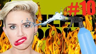 PEOPLE OF BOILER ROOM #10 - MILEY CYRUS, WATER SPRAY & CROWD ON FIRE