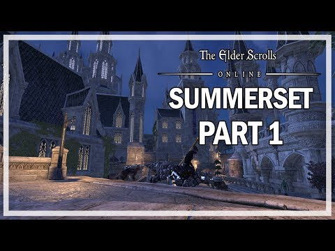 The Elder Scrolls Online Summerset Let's Play Part 1 - Queen's Decree