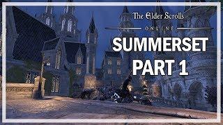 The Elder Scrolls Online Summerset Let's Play Part 1 - Queen's Decree