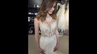 Облегающее свадебное платье(рыбка)