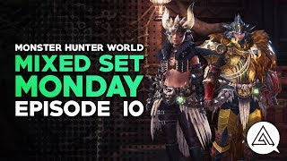 Mixed Set Monday #10 | Dante Charge Blade, Crit Boost SnS & More Cosplay!