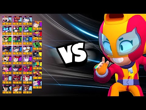 Max 1v1 Against EVERY Brawler | She Is A SPEED DEMON!