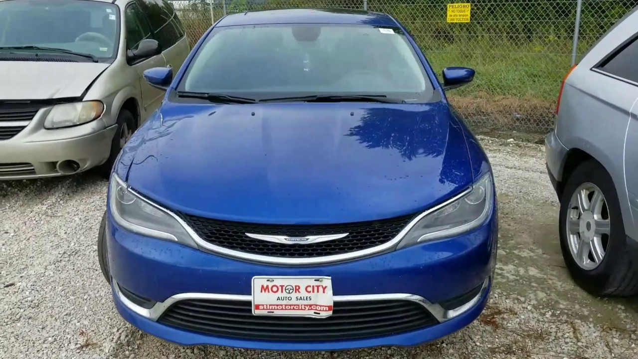 2015 Chrysler 200 Lost Key Replacement In Under 8 Minutes Youtube