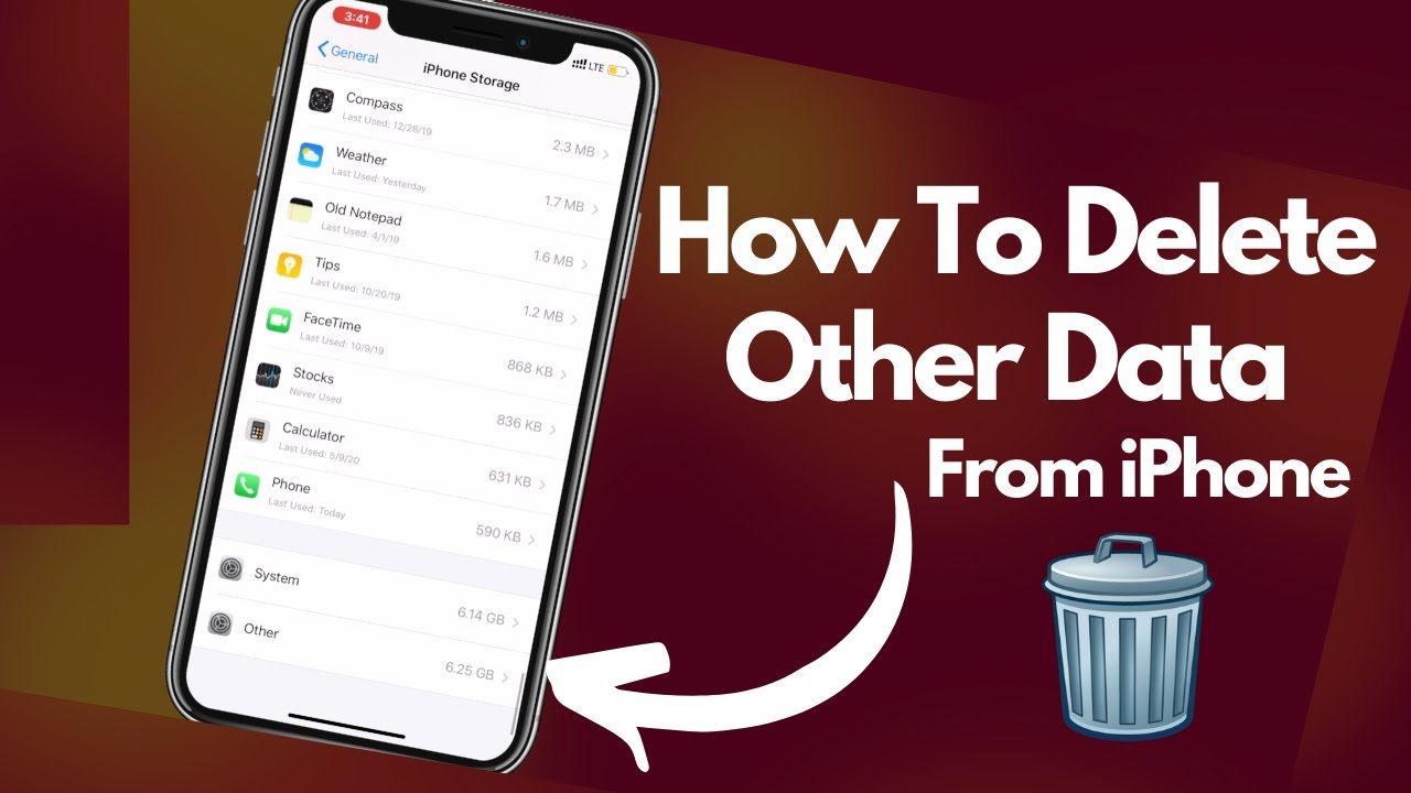 How To Delete Other Data In iPhone | iPhone Tricks And ...