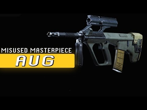 The Misuse Of The AUG - Modern Warfare SMG Review