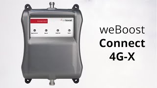 weBoost Connect 4G-X Signal Booster 471104 - This video has been updated
