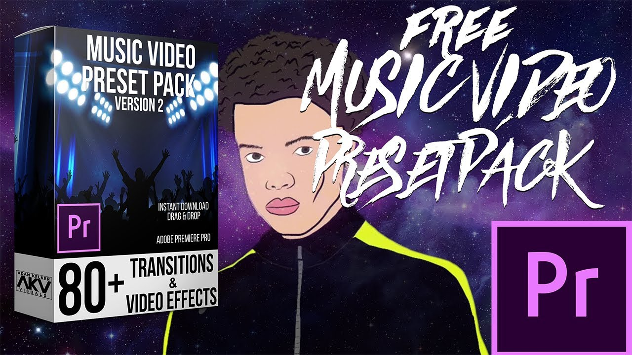 FREE MUSIC VIDEO TRANSITION AND EFFECT PACK | ADOBE PREMIERE PRO CC 2018