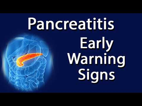 Pancreatitis - Early Warning Signs