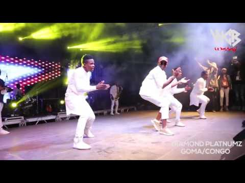 Diamond Platnumz-live performance at Congo
