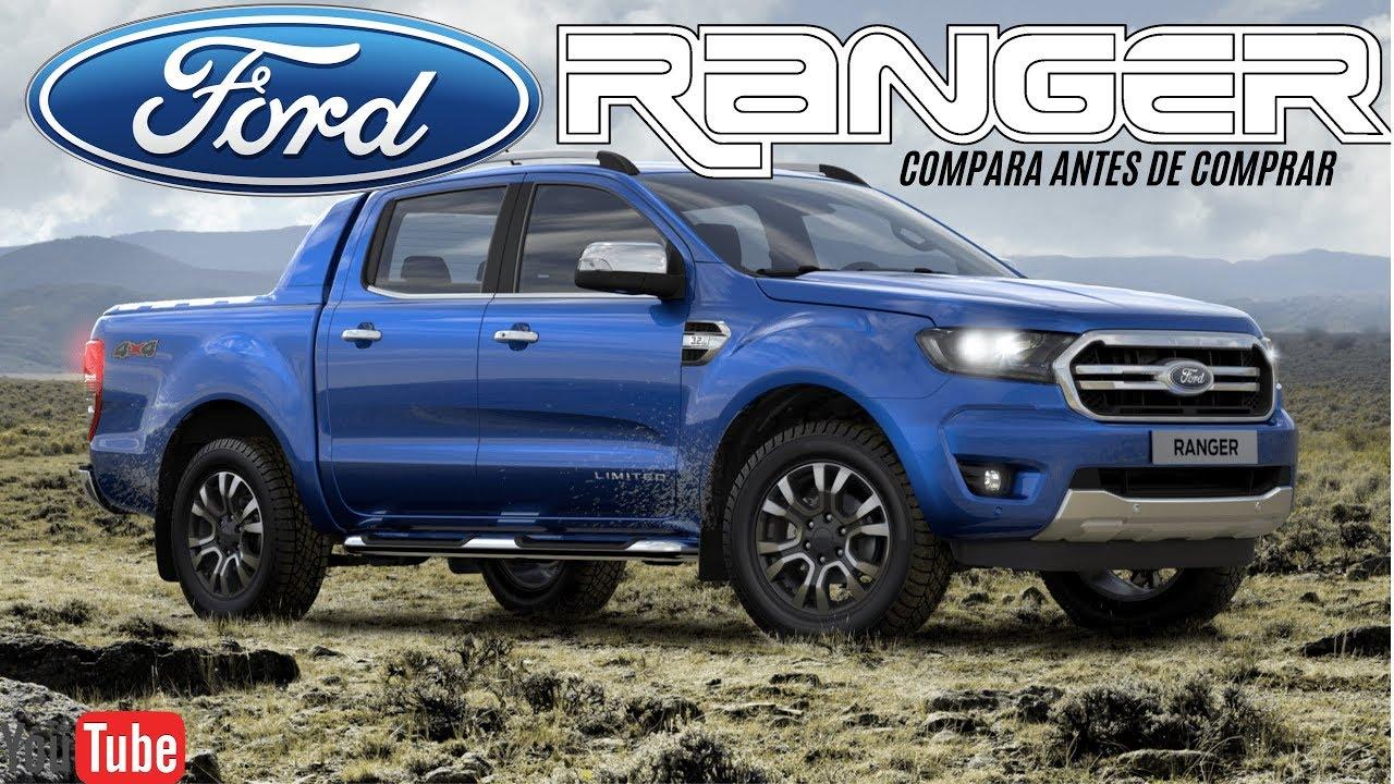Nueva Ford Ranger 2020 Versiones Y Precios Youtube