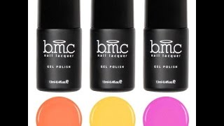 Bundle Monster Review | Mosaic Glass Sheer Tints Gel Polish | Leadlight Nail Art