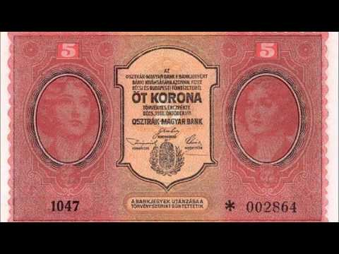 BANKNOTES AUSTRO HUNGARIAN EMPIRE 1916-1918 ISSUE