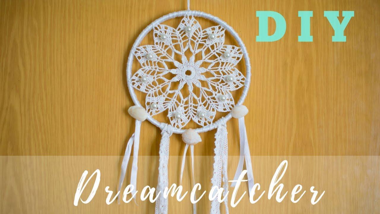 Diy Dreamcatcher Tutorial How To Make A Crochet Dreamcatcher