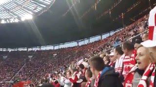 Mecz Polska-Finlandia Meksykańska Fala