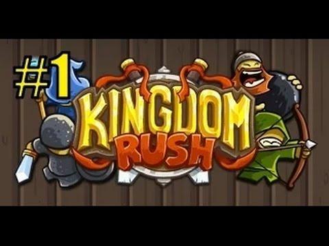 Защита королевства (Kingdom Rush) прохождение #1