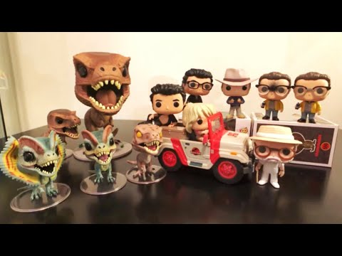 Jurassic Park Funko POP Collection Review
