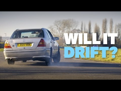 Can I Drift This £200 Mercedes?