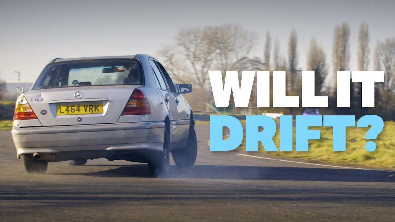 Can I Drift This £200 Mercedes?