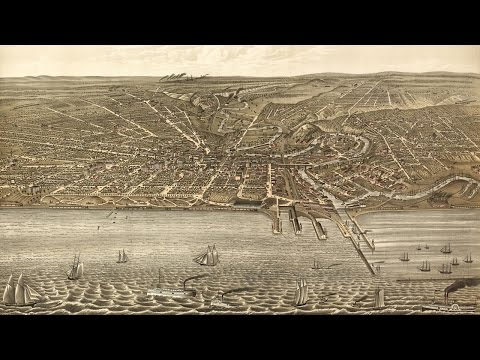 Cleveland Ohio History And Cartograph (1877)