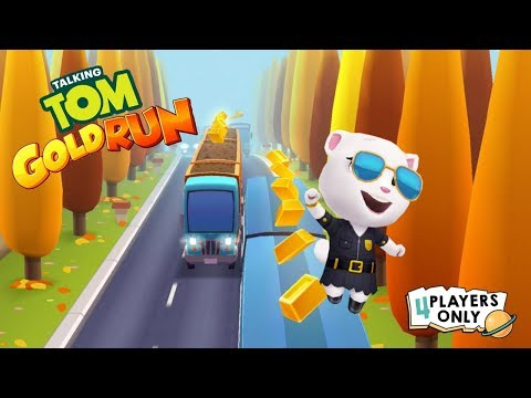 Talking Tom Gold Run: Endless Running Adventure   Cyber City w/ AGENT ANGELA! By Outfit7