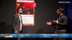 2013 World Championship Deck Tech: Gruul Aggro with Brian Kibler (Standard)