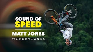 Matt Jones Throws Huge Tricks in Slopestyle MTB Training Session | Sound of Speed