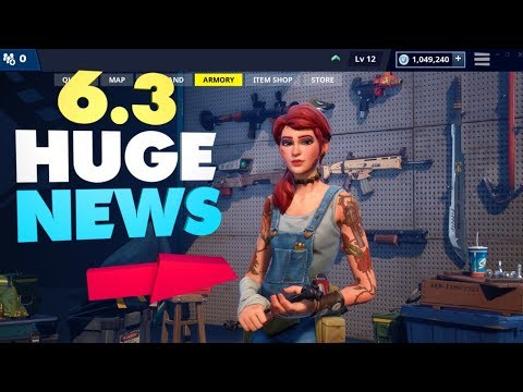 ALL Upcoming UI Changes For 6.3! Fortnite Save The World