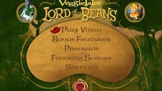 VeggieTales - Lord of the Beans Menu Walkthrough