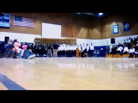 The Lamb and the Tiger sung by the Wapato Middle School 6th Grade Choir
