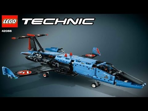 lego technic 2017 air race jet 42066 private jet 2 youtube. Black Bedroom Furniture Sets. Home Design Ideas