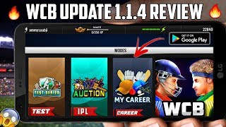 WCB New Update Launch IPL Auction🔥 Full Review !! Version 1.1.4