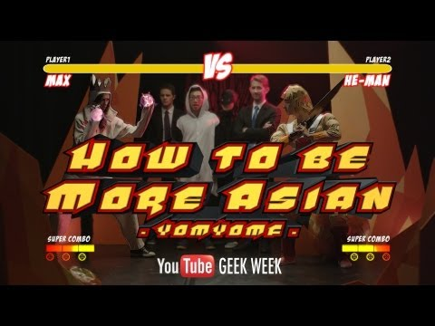 How to be More Asian (Youtube's Global Geekery)