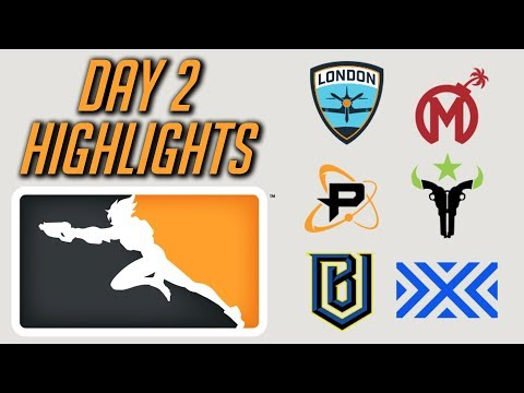 Highlights - Day 2 Overwatch League 2018!