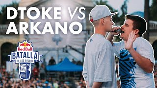 DTOKE vs ARKANO – Cuartos: Final Internacional de Chile 2015 | Red Bull Batalla De Los Gallos thumbnail