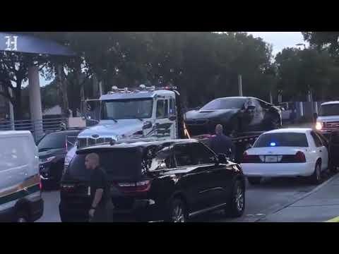 police take away xxxtantacion car
