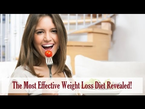 The Most Effective Weight Loss Diet Revealed