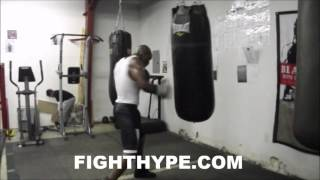 VAUGHN ALEXANDER, BROTHER OF DEVON ALEXANDER, RETURNS TO BOXING; LOOKS FAST, EXPLOSIVE, & POWERFUL