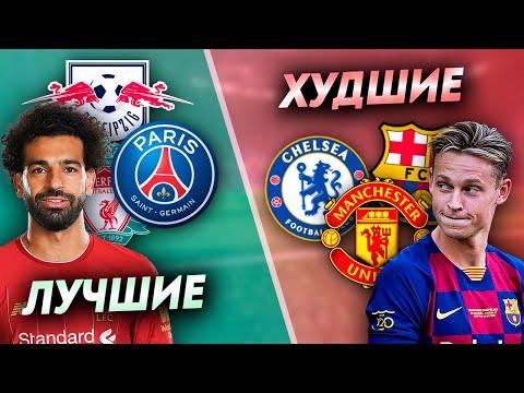 5 ЛУЧШИХ и ХУДШИХ ТОП-КЛУБОВ на старте сезона 2019-20