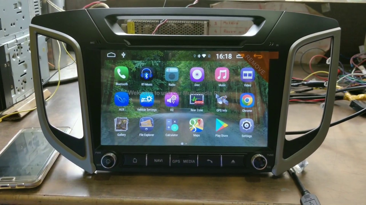 Hyundai Creta Android System With Mirror Link Android