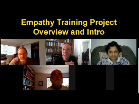 Intro and Overview of the Empathy Training Development Project.
