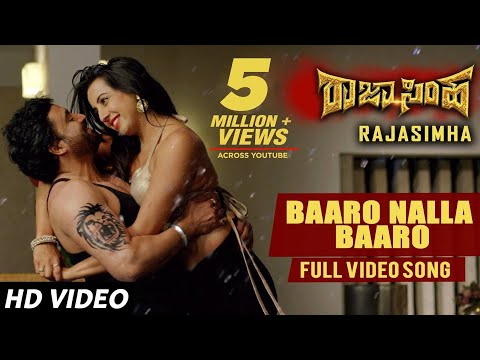 Baaro Nalla Baaro Video Song | Raja Simha Video Songs | Anirudh,Sanjana Galrani,Nikhitha|Jassie Gift thumbnail