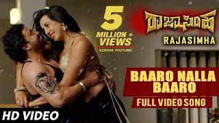 Baaro Nalla Baaro Video Song | Raja Simha Video Songs | Anirudh,Sanjana Galrani,Nikhitha|Jassie Gift